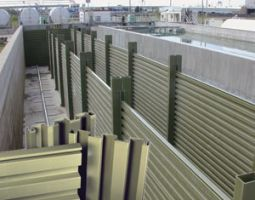 FRP-baffle-wall-panels