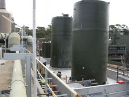 FRP-double-walled-storage-tanks